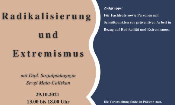 Workshop – RadikaIisierung und Extremismus