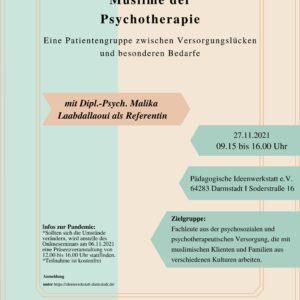 Muslime der Psychotherapie
